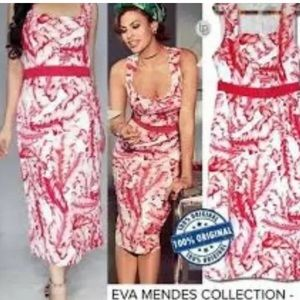 Eva mendes palm leaf dress size 16 fits 18